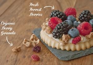 forrest berries crunchy tart