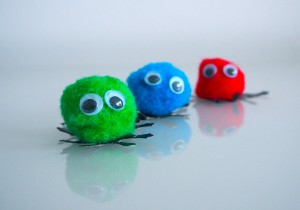 Pom Pom Mini Cute Monsters