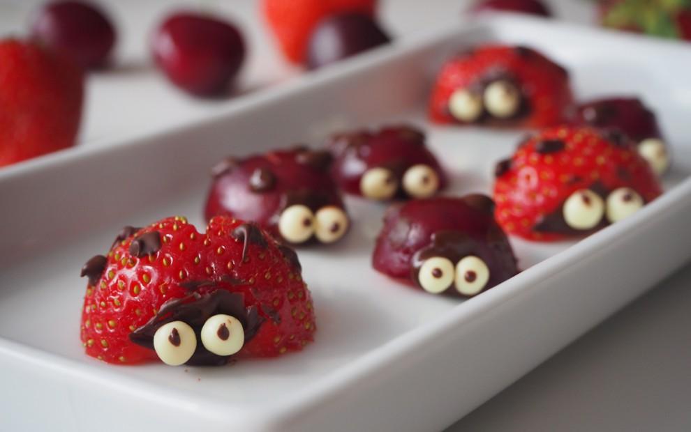 Ladybugs Chocolate Bites