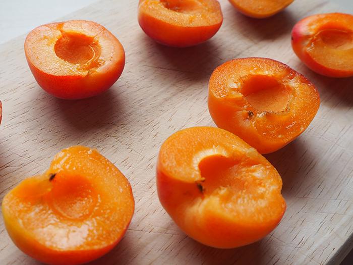apricot half