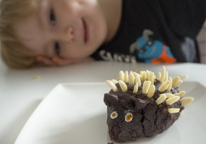 Hedgehog tiny Cake
