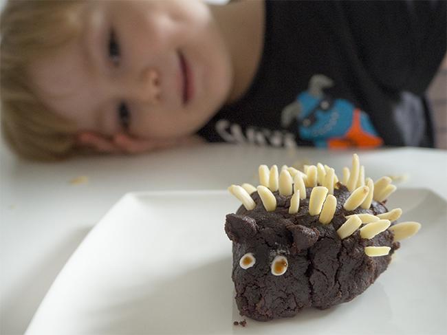 Hedgehog tiny Cake