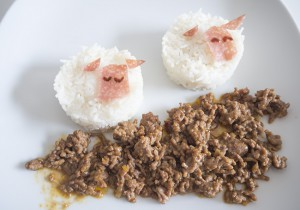 sheep fun food