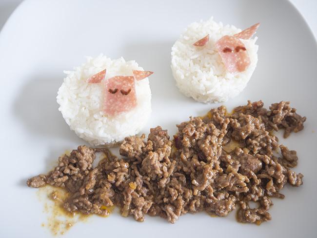 sheep fun food