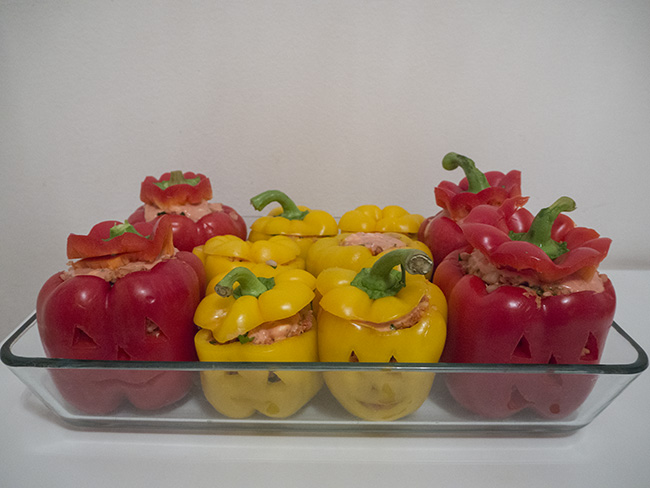 Stuffed Paprika Heads