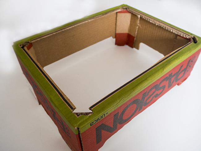 Cardboard TV