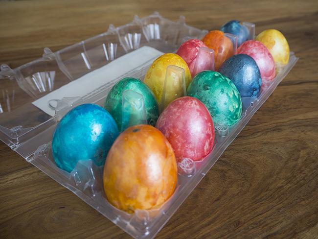 Surprise Egg Cake