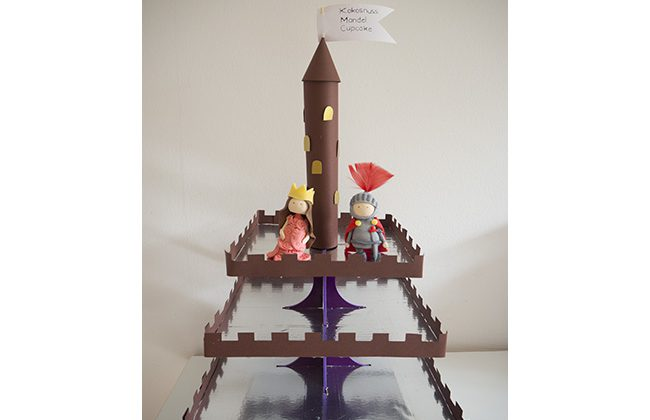 Castle Cupcake Stand